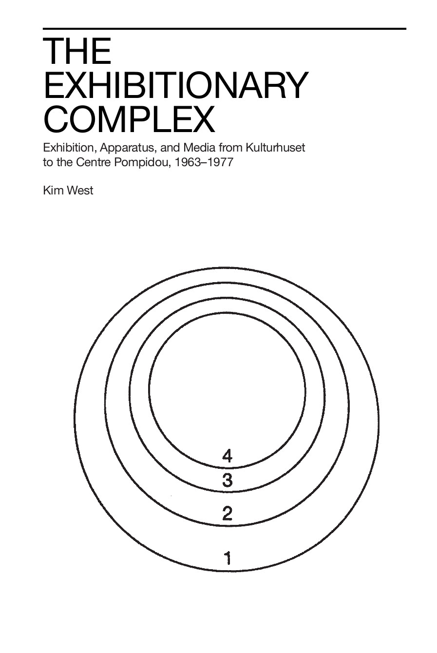 Kim West: The Exhibitionary Complex: Exhibition, Apparatus and Media from Kulturhuset to the Centre Pompidou, 1963-1977 (2017)