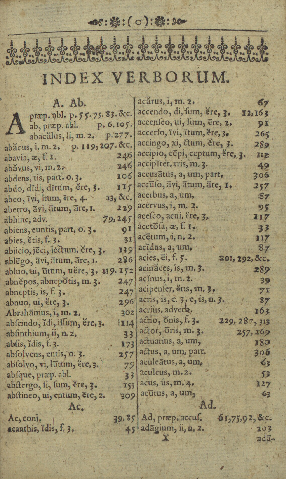 Comenius 1668 Orbis Pictus index page.jpg