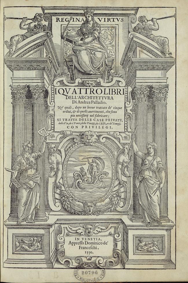 a review of andrea palladios quatro libri dell architettura