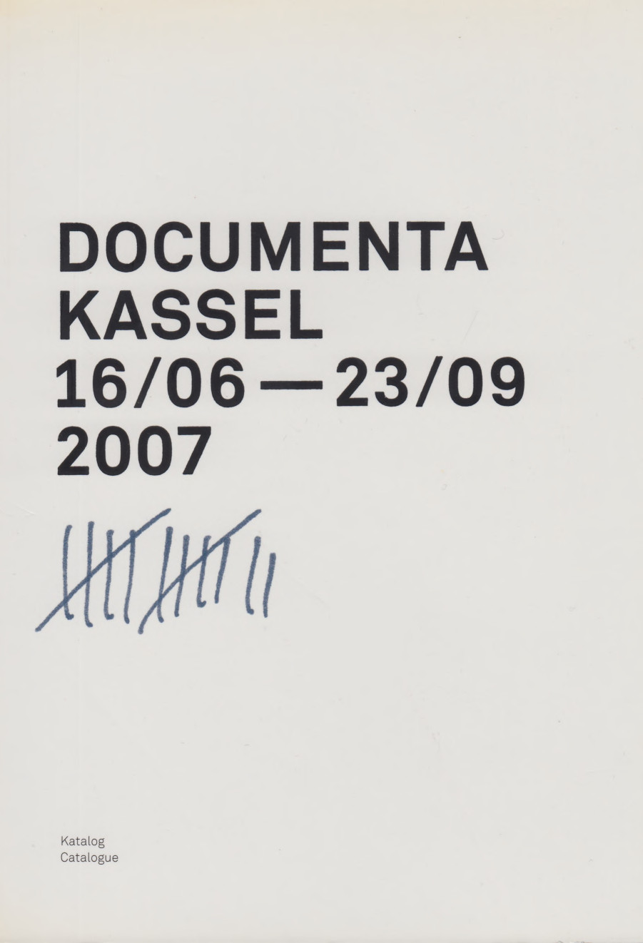 documenta 12 (2007) [German/English]