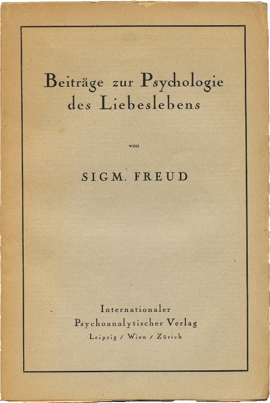 essay written by sigmund freud