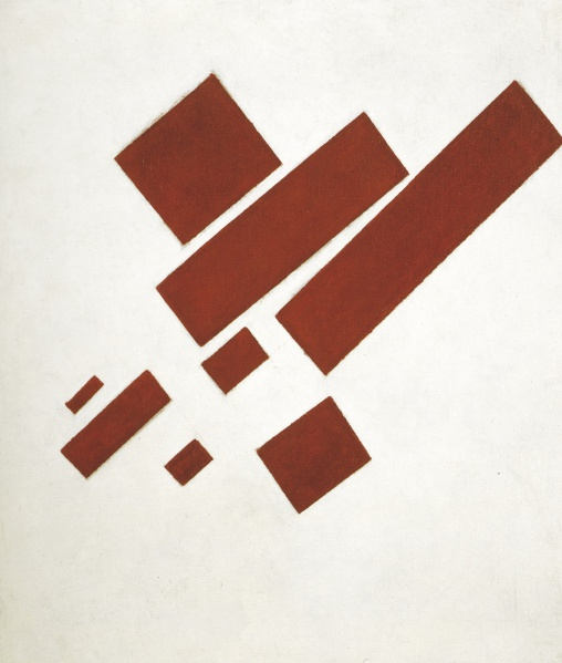 File:Malevich Kazimir 1915 Suprematism with Eight Rectangles.jpg