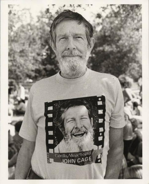 File:John Cage at the Cabrillo Music Festival 1977 photographed by Betty Freeman.jpg