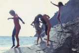 Dvizheniye Kinetic game at Sea Antonov Bystrov Grigoriev Nedeljko Bitt Itsko filmed by Nusberg Crimea 1972 7.jpg