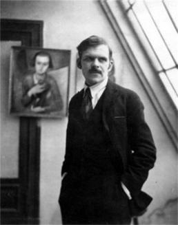 Aleksandar Arhipenko 258px-Alexander_Archipenko_in_his_Paris_studio_1913