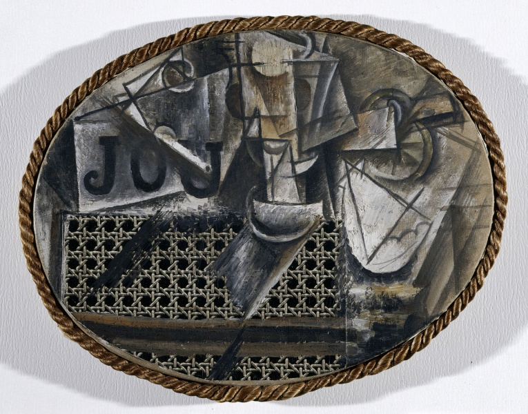 File:Picasso Pablo 1912 Still Life with Chair Caning.jpg