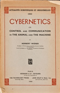an overview of the opening of norbert wieners address on cybernetics When the war ended, wiener wrote the book cybernetics (1948) in which   borrowing from moor's later, and very apt, description of computer ethics   ethicomp95 keynote address, drew a number of other people into the  discussion:  beginning with the computer ethics works of norbert wiener (1948 ,.