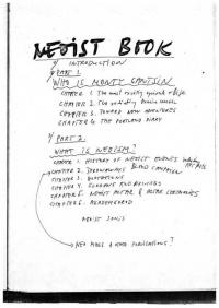 Monty Cantsin Neoist Songs