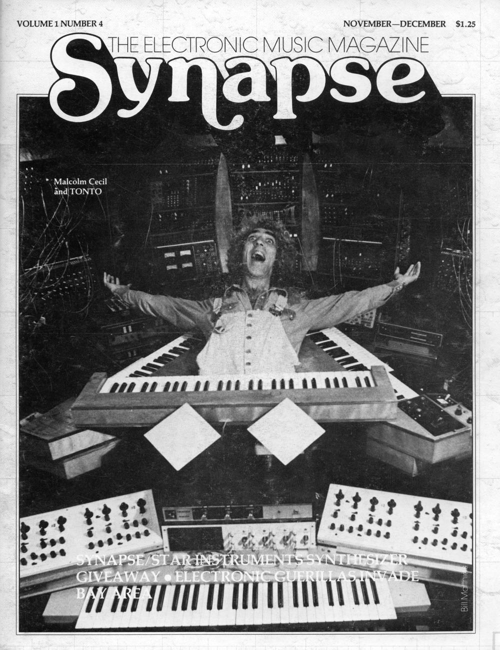 Synapse: The Electronic Music Magazine (1976-1979) — Monoskop Log